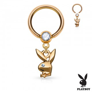 Ball closure ring met Playboy Bunny hanger