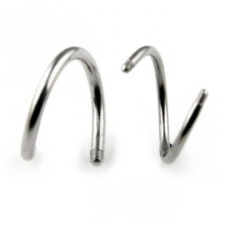 surgical steel twister bars