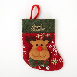 Deer Antler Christmas Stocking to fill with your gifts
