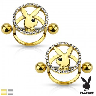 Set of 2 Playboy nipple shields