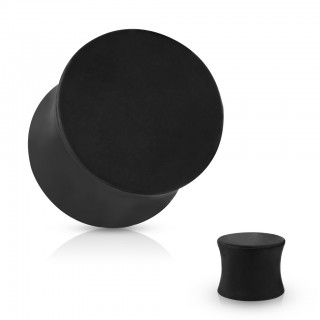 Matte saddle fit plug in black colour