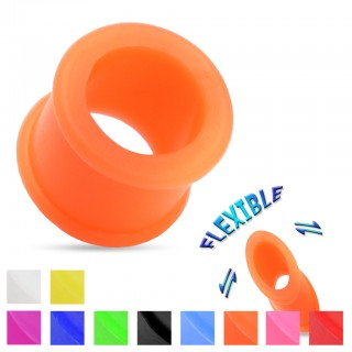 Flexible silicone tunnels in various colours