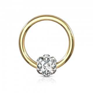 Gekleurde ball closure ring met ferido ball