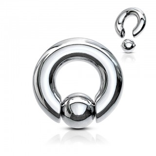 Ball closure ring with easy ball