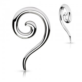 Long steel spiral taper