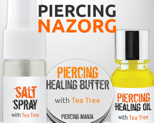 Piercing Nazorg