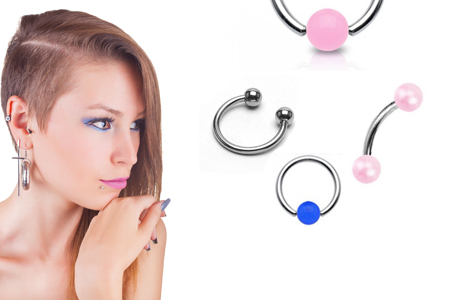 All information about the clit piercing